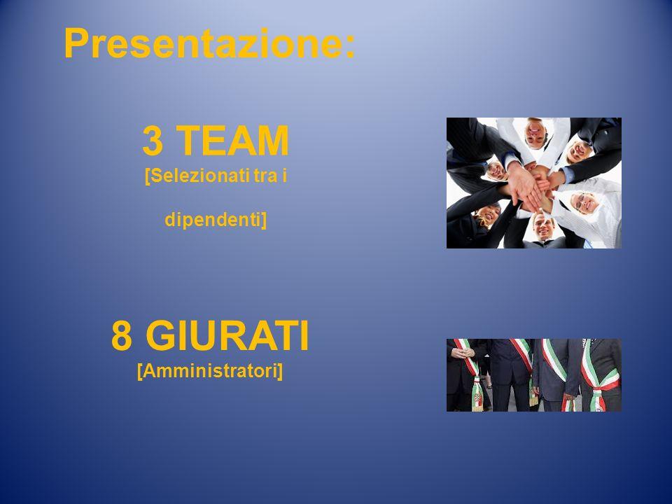 3 TEAM [Selezionati tra i dipendenti]